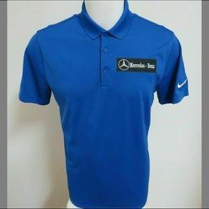 2XL Royal Blue Nike Mens db Cotton/Poly #41P Polo